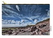 Manorbier Rocks Big Sky Carry-all Pouch