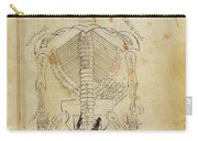 Mansurs Anatomy, Skeletal System, 15th Carry-all Pouch