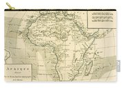 Map Of Africa Carry-all Pouch