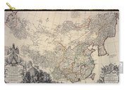 Map Of China, 1734 Carry-all Pouch