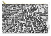 Map Of Paris Carry-all Pouch by German School