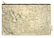 Map Of Persia Carry-all Pouch