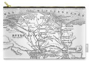 Map: Suez Canal, 1869 Carry-all Pouch