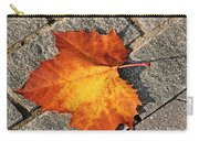 Maple Leaf In Fall Carry-all Pouch
