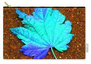 Maple Leaf On Pavement Carry-all Pouch