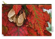 Maple Leaves And Seeds Carry-all Pouch