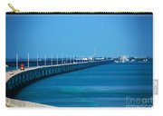 Marathon And The 7mile Bridge In The Florida Keys Carry-all Pouch