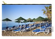 Marbella Beach And Sea Carry-all Pouch