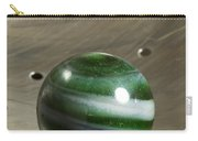 Marble Green Onion Skin 5 Carry-all Pouch