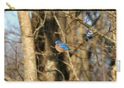 March Bluebird Carry-all Pouch