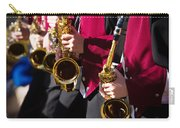 Marching Band Saxophones Cropped Carry-all Pouch