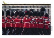 Marching In Red And Black Carry-all Pouch