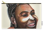 Mariama Ba Carry-all Pouch