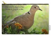 Marigold Dove With Verse Carry-all Pouch