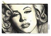 Marilyn Monroe Carry-all Pouch by Debbie DeWitt