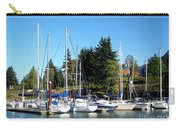 Marina At Cascade Locks Carry-all Pouch