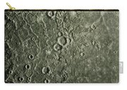 Mariner 10 Mosaic Of Mercury Showing Carry-all Pouch