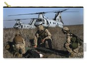 Marines And Sailors Being Transported Carry-all Pouch