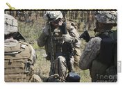 Marines Communicate With Other Elements Carry-all Pouch