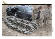 Marines Discover A Weapons Cache Carry-all Pouch by Stocktrek Images