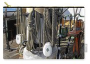 Maritime Pulley And Rope Work Carry-all Pouch