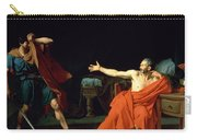 Marius At Minturnae Carry-all Pouch by Jean-Germain Drouais