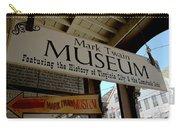 Mark Twian Museum Virginina City Nv Carry-all Pouch by LeeAnn McLaneGoetz McLaneGoetzStudioLLCcom