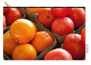 Market Tomatoes Carry-all Pouch by Lauri Novak