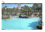 Marriott Hotel Swimming Pool Panorama Orlando Fl Carry-all Pouch