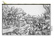 Mars, Roman God Of War Carry-all Pouch by Photo Researchers