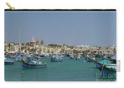 Marsaxlokk Harbour Carry-all Pouch