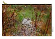 Marsh Spider Web Carry-all Pouch