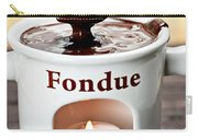 Marshmallow Dipped In Chocolate Fondue Carry-all Pouch