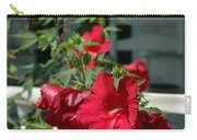 Martha's Vineyard Red Hibiscus And Porch Carry-all Pouch