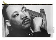 Martin Luther King, Jr Carry-all Pouch by Photo Researchers