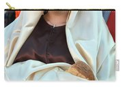 Mary And Baby Jesus At The Christmas March In Bethlehem Carry-all Pouch