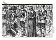 Mary Dyer, D.1660 Carry-all Pouch by Granger