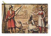 Mary Read And Anne Bonny, 18th Century Carry-all Pouch