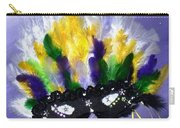 Masque Over Bourbon Street Carry-all Pouch