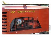 Massey Harris Details Carry-all Pouch