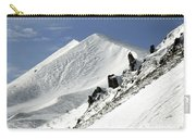 Massif Of Sancy In Winter. Puy De Dome. Auvergne Carry-all Pouch