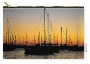 Masts At Sunset Carry-all Pouch