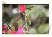 Mating Dragonfly Carry-all Pouch