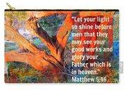 Matthew 5 Carry-all Pouch