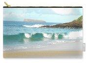 Maui Hawaii Beach Carry-all Pouch by Rebecca Margraf