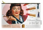 Max Factor Lipstick Ad Carry-all Pouch