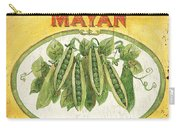 Mayan Peas Carry-all Pouch