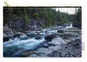 Mcdonald River Glacier National Park - 3 Carry-all Pouch