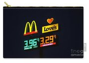 Mcdonalds Loves Gas Carry-all Pouch