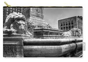 Mckinley Memorial In Black And White Carry-all Pouch